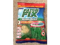 Garden Chatsworth Healthy Patch Fix Grass Seed 15% Extra Free, Unique Blend 460g