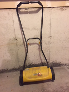 Push Blade Mower