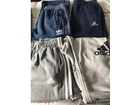 Adidas joggers small to medium man 4 pairs all authentic **cheap £15 the lot**