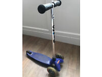 Blue Mini Micro Scooter (worth £65 new) (missing the back foot brake)
