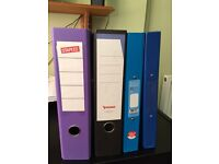Selection of A4 Ringbinder files