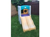 Little tykes outdoor climb and slide