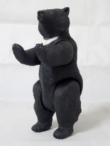 Asian Black Bear Figure HAPPINET Animal Soft Vinyl Doll Series 12 Wild