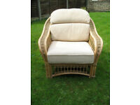 Large Conservatory Cane Chair