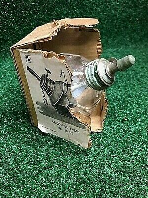 Octagon Shaped Alcohol Burner Lamp Adjustable Wick - Box 30-020 Science Projects