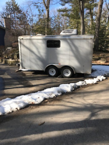 14 x 7  Trailer with air conditioning