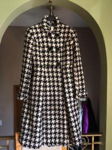 Vintage DESIGNER women's coat sz Lg (reg $450)