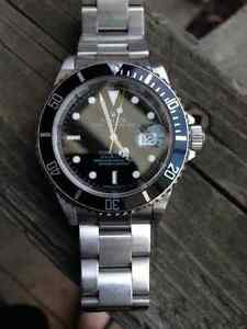TRADE Rolex 16610 Sub with date for Rolex 14060 no date