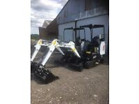 digger, dumper hire covering Sussex reliable service modern machinery