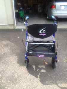 Arnprior- Airgo excursion extra wide wheeled walker with seat