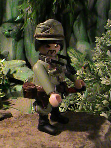PLAYMOBIL-OFICIAL-JAPONES-INFANTRY-DIVISION-BURMA-1942-REF-0011
