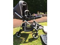 Silver Cross Pursuit Pram and Carry cot