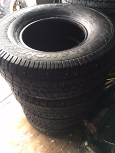 LT285/75/16 Hercules Avalanche Winter Tires
