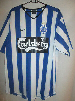 Odense OB 2002-2004 Home Football Shirt Size Medium /20773