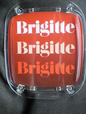 Zahlteller / Geldteller von BRIGITTE Zeitung ca. 17,5 x 21 cm Hartplastik / Neu