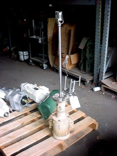 1 Hp ADMIX STAINLESS STEEL ROTOSTAT MIXER 29 inch shaft 3450 rpm