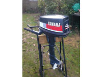 Yamaha 4HP Short Shaft Outboard