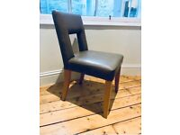4 Charlotte James dining chairs