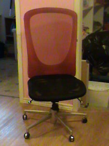 Red/blk Chair