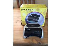 Professional High Power LED UV Nail Lamp 48 Watts