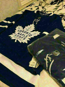 BRAND NEW AUTHENTIC BLUE ADIDAS LEAFS JERSEYS FOR SALE!!