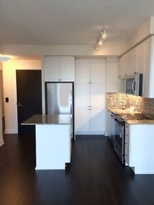 Gorgeous Brand NEW 2 bedroom + Den condo for rent