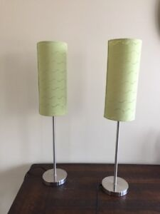 Pair of stylish table lamps