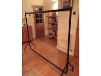 Heavy duty clothes rack 6ft x 5ft with 1ft height extensions