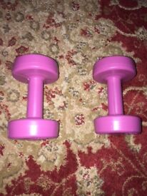 Two Dumb Bells 1.5 kg Each - Moving Abroad