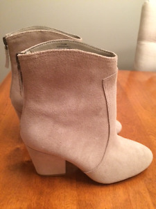 BRAND NEW! Women's Nine West Leather Booties - Size 7.5