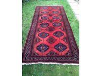 Brand new Persian Handmade Runner/ Rug size 3 00 cm x 150 cm