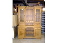 Beautiful Solid Oak Dresser, Handmade