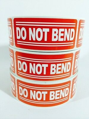 250 1x3 Do Not Bend Labels Stickerslabels 250 1x3 Do Not Bend Labels Stickers