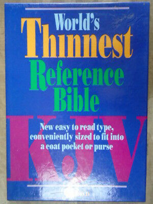 Ultra-Thin Reference Bible by
