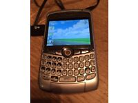 Blackberry CURVE model 8310 with charger.