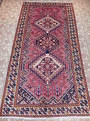 Classical Antiquity Design 5x10 Wide Gallery Rug Runner Hand Knotted Carpet