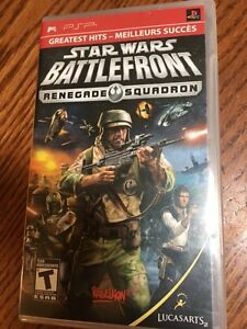 Star Wars Battlefront Renegade Squad PSP Game
