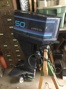 Used 50HP Outboard Motor