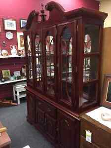 Cherry Coloured Hutch