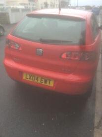 Seat Ibiza 2L sport for sale. Excellent reliable car