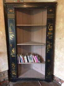 Chinese corner cupboard