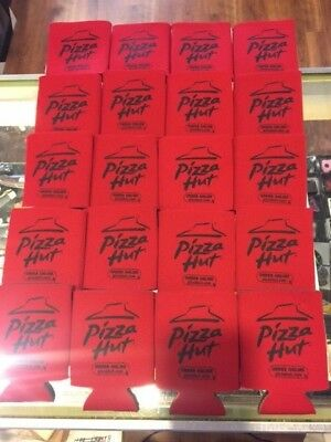 20 Pizza Hut Restaurant Advertising pizzahut.com Beer Koozie Holder