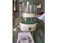 Tefal Aqua steamer - brand new - with instruction manual