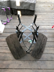 Big Green Egg Nest and Side Tables