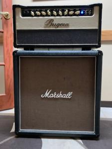 MARSHALL 4X10 GUITAR CAB/BUGERA vintage 55 HEAD