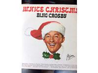 Bing Crosby LP white christmas 1970s 33 rpm