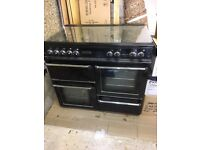 FOR SALE: Black Leisure Range Cooker CM101NR