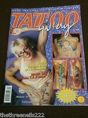 TATTOO GALLERY # 5 - FROM OUTER SPACE -  MAY 1997](Outer Space Tattoo)
