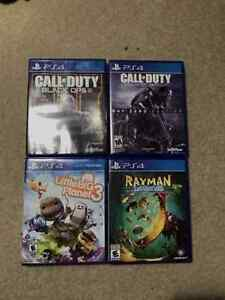 *******PLAYSTATION 4 GAMES*******