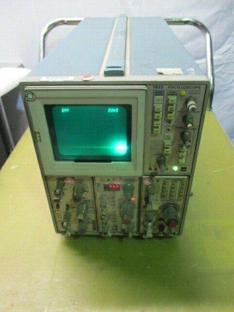 Tektronix 7633 Oscilloscope w/ 7A26, 7A13, and 7B53 Plug-In Modules, 453636